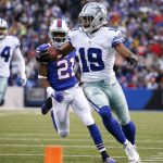 Dallas Cowboys at New York Giants, 8:30p.m. EST
